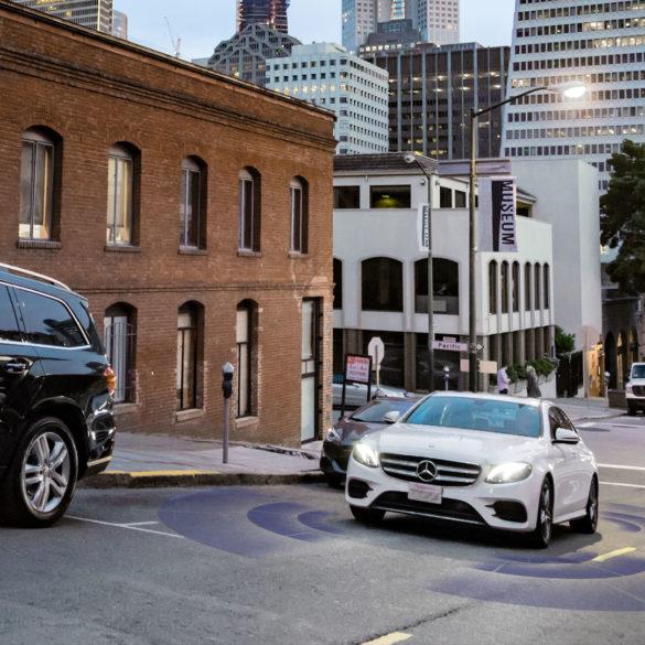 Bosch Mercedes San Francisco Filmproduktion 3D CES Las Vegas