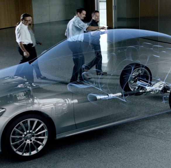 3D Animation Mercedes Getriebe