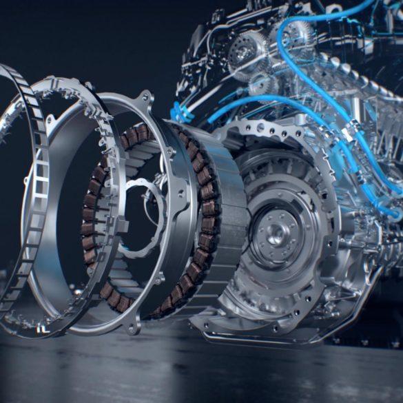 Stereo 3D Animation CGI Motor