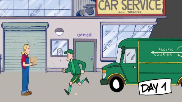 PT Service Cartoon 2D-Animation