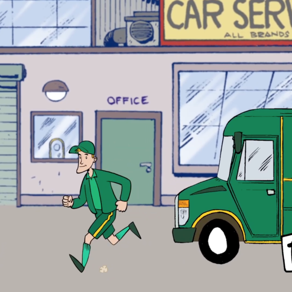 PT Service Cartoon 2D-Animation
